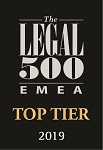 Legal 500 - Top Tier